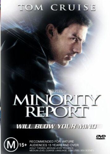 1 of 1 - Minority Report (2002) Tom Cruise - NEW DVD - Region 4