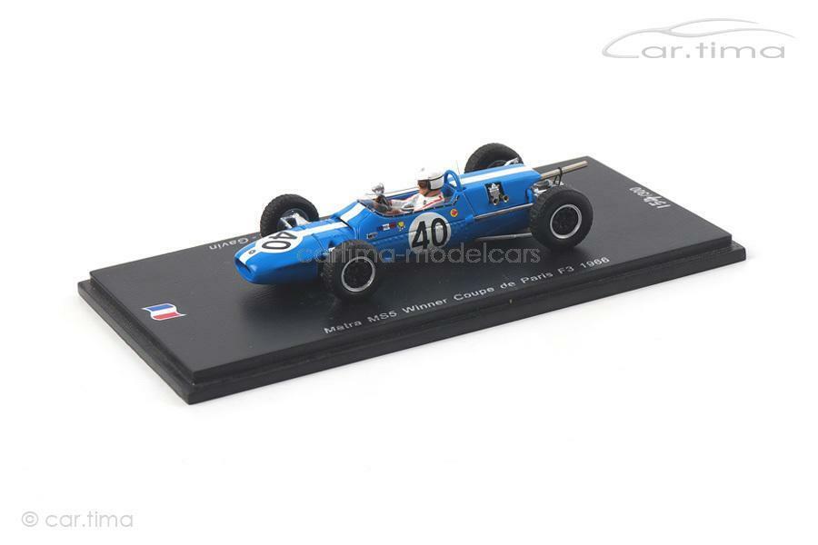 a la venta Matra ms5-Winner Coupe de Paris 1966-Johnny Servoz-Gavin - 1 of of of 300-Spark  Envio gratis en todas las ordenes
