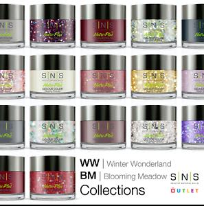 SNS Gelous Colour Dipping Powder Winter Wonderland WW BM