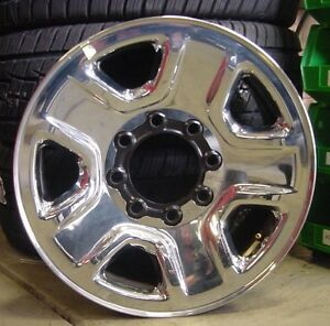 "DODGE 2015 RAM 2500 OEM 18"" INCH WHEEL RIM STEEL/CHROME ..."