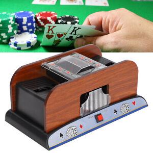 Wood-Card-Shuffler-Automatic-Battery-Powered-Playing-Card-Shuffler-Machine