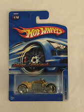 DODGE TOMAHAWK - Gold 2005 Hot Wheels Die Cast Motorcycle  - Mint on Card