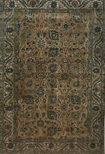 Antique Hand Knotted Dye Washed Authentic Rug 7X10 Very Rare & Gorgeous