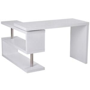 Hollow-L-Shaped-Desk-Rotating-Corner-Computer-Workstation-Storage-Organizer