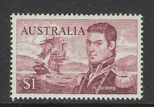 AUSTRALIA-1966-1-MATTHEW-FLINDERS-NAVIGATOR-Single-MNH