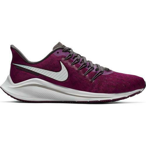 Nike Womens Air Zoom Vomero 14 Running shoes True Berry White Grey AH7858-600