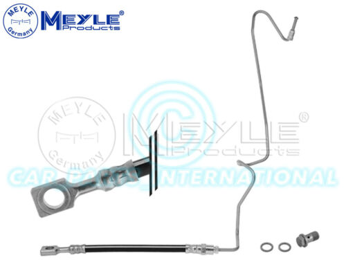 Meyle Germany Brake Hose with seal pipe and hollow screw 100 525 0055//S