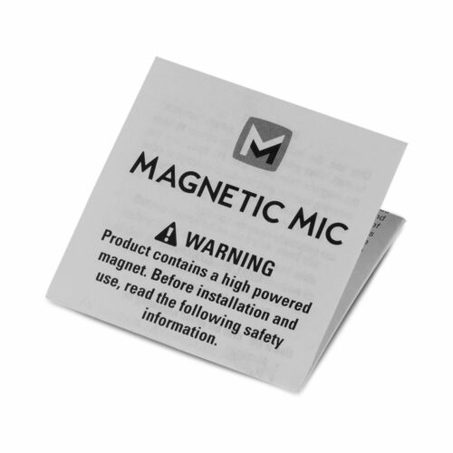 Magnetic Mic conversion kit for mobile CB radio comms handset microphone and PA