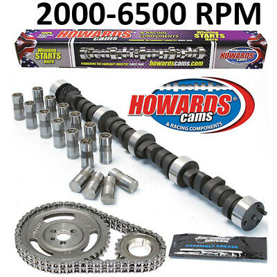 "HOWARD/'S 800-4000 RPM Chevy BBC 259//263 476/""//476/"" 112° Cam Kit with Timing Set"