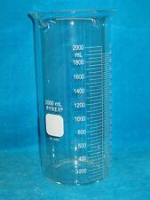 New Pyrex 2000ml Glass Double Spout Beaker 6480 2l
