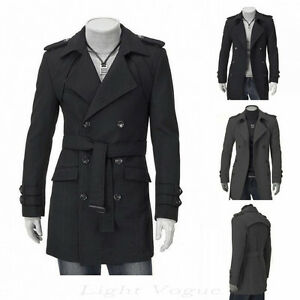 trench coat homme doublé