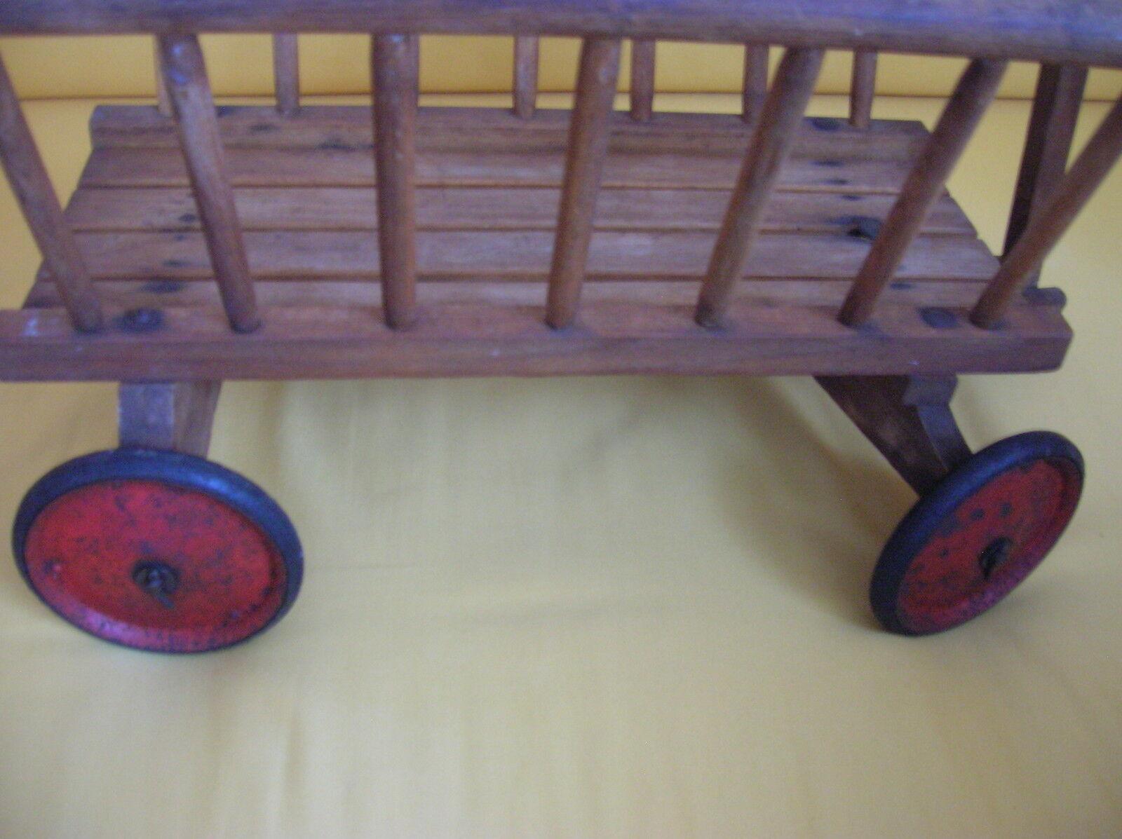 Bollerwagen Handwagen Rollwagen Transportkarre Transportkarre Transportkarre B 48 T56 H 86 cm Vintage ca. 60er 0220b0
