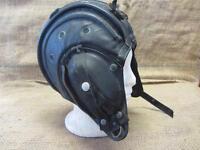 Vintage 1970s Leather Military Tank Helmet Antique War Field Equipment Gear 8606