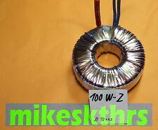 Halogentrafo 11,5V 100VA Ringkerntransformator 12V 100W f.Halogenlampen  R100W-Z