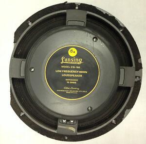 Details about ALTEC LANSING 515-16G LF WOOFER SPEAKER 15A 16