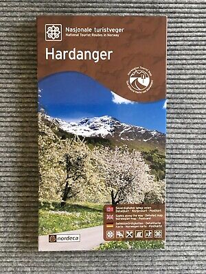 Hardanger National Tourist Route Map