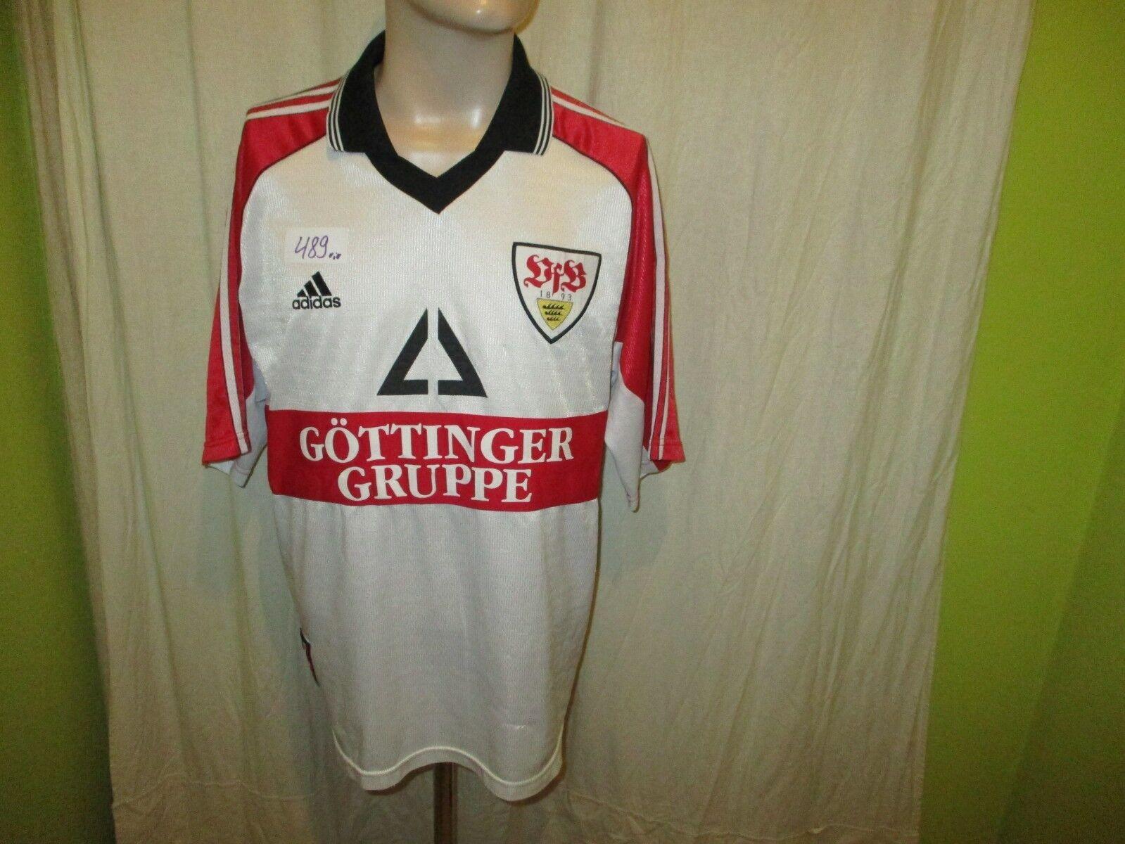 VfB Stuttgart Original Adidas Trikot 1998 99    Göttinger Gruppe  + Nr.6 Gr.XL e5209c