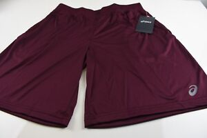 MEDIUM-BURGUNDY-Shorts-Womens-Running-ASICS-Training-Discount-Ejercisio-WINE-NEW