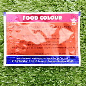 red kingcol colour food coloring powder safe additive bakery by ...