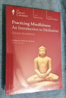 The Great Courses Practicing Mindfulness An Introduction To Meditation Book Dvd
