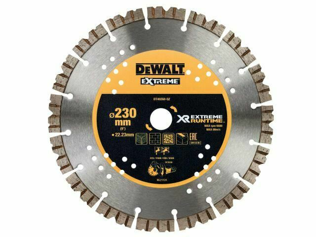 DEWALT - Extreme Diamond Wet & Dry Diamond Blade 230 x 22,23 mm