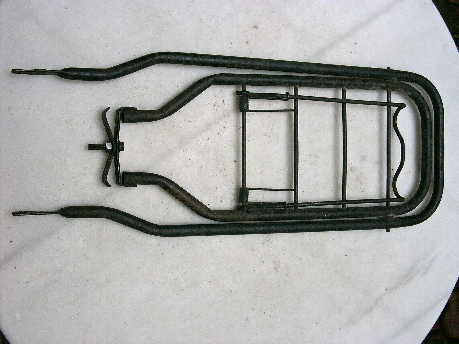 Vintage bicycle rear rack