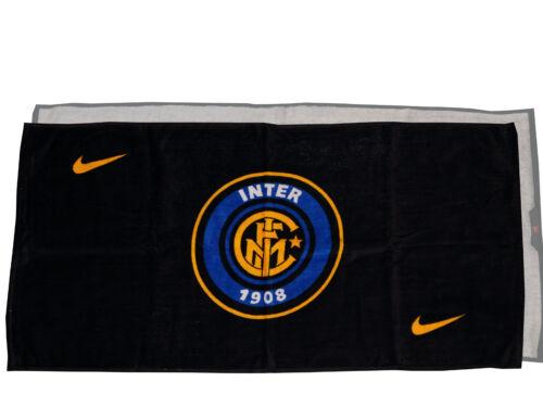 Nike Sport & Fan-Handtuch Inter Mailand Towel schwarz Dusche Bad 100x50cm