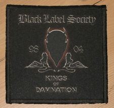 "BLACK LABEL SOCIETY ""KINGS OF DAMNATION"" silk screen PATCH"