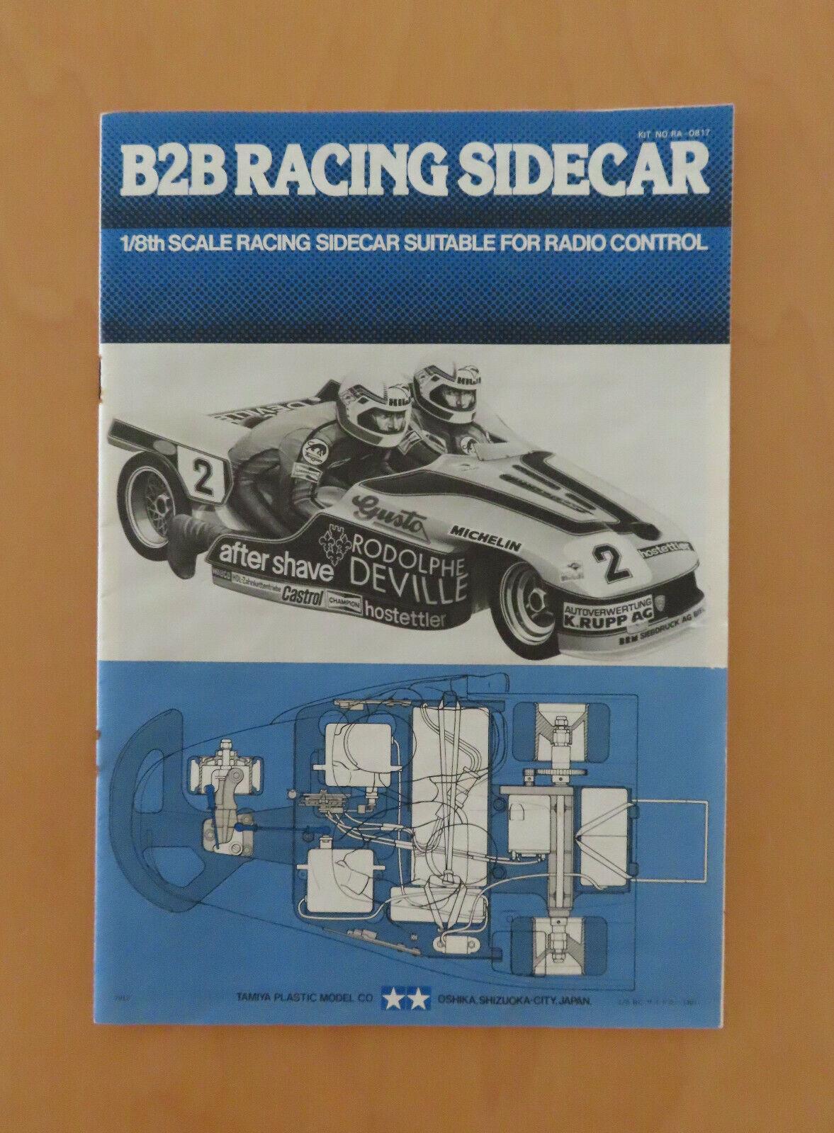 RC Tamiya uomoUALE B2B Racing Sideauto 58017, RA0817  NUOVO 1979  ordina ora i prezzi più bassi