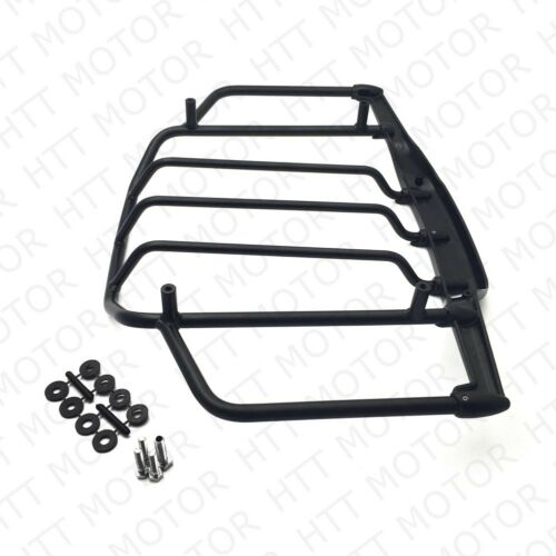 Flat Black Luggage Rack For Harley Air Wing Tour Pak Trunk Pack 1993-2013