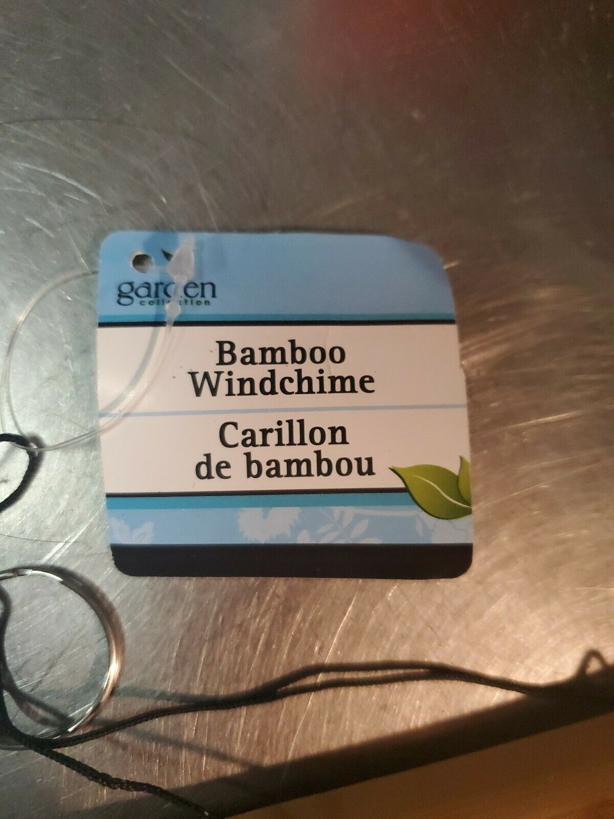 Bamboo wind chimes . Great relaxing sound. We ship fast.