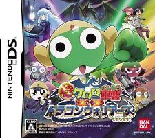 USED Chou Gekijoban Keroro Gunsou: Gekishin Dragon Warriors de Arimasu! Japan DS