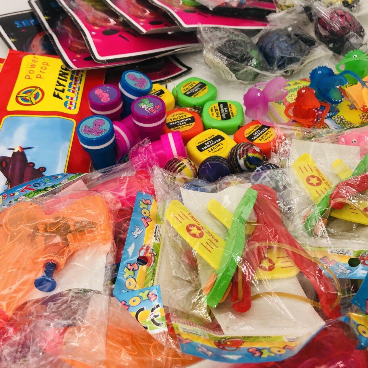 500 Teile Mitgebsel Kleinspielzeug Mix Beutel Kindergeburtstag Party Tombola