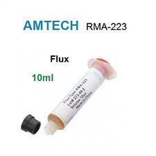 Tubo pasta Flux Amtech RMA-223 10cc desoldadora soldar desoldar SMD BGA 10ml.