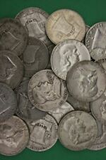90% Silver Franklin Half Dollars (1948-1963) - Choose How Many