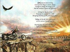 Serenity Prayer Long Version Inspirational Recovery Ready to Frame Art Print