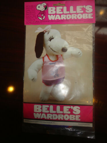 1958 VINTAGE outfit Belle's SNOOPY sister skater collectors peanuts shorts pink