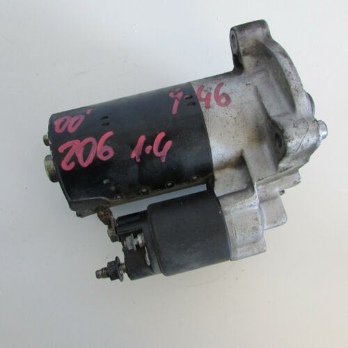 8242 17-1-B-13 Motorino avviamento 1005821815 Peugeot 206 Mk2 2000-2009 usato