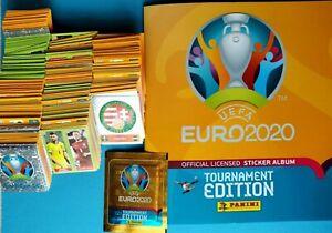 Panini Euro 2020 Tournament Edition Alle 678 Stickers & Album, Complet figurine