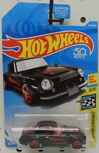 Hot Wheels /& Display Case Nissan Fairlady 2000 BLACK