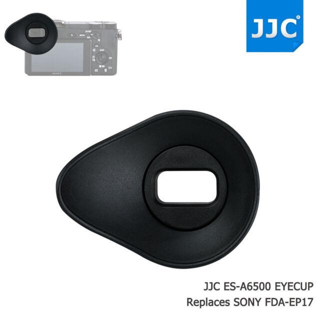 JJC Black Eyecup Eye Cup Eyepiece Viewfinder for Sony A6500 Replace Sony FDA-EP17