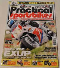 Practical Sportsbikes March 2013 Honda RC45, Suzuki GT750, Yamaha FS1-E, Exup