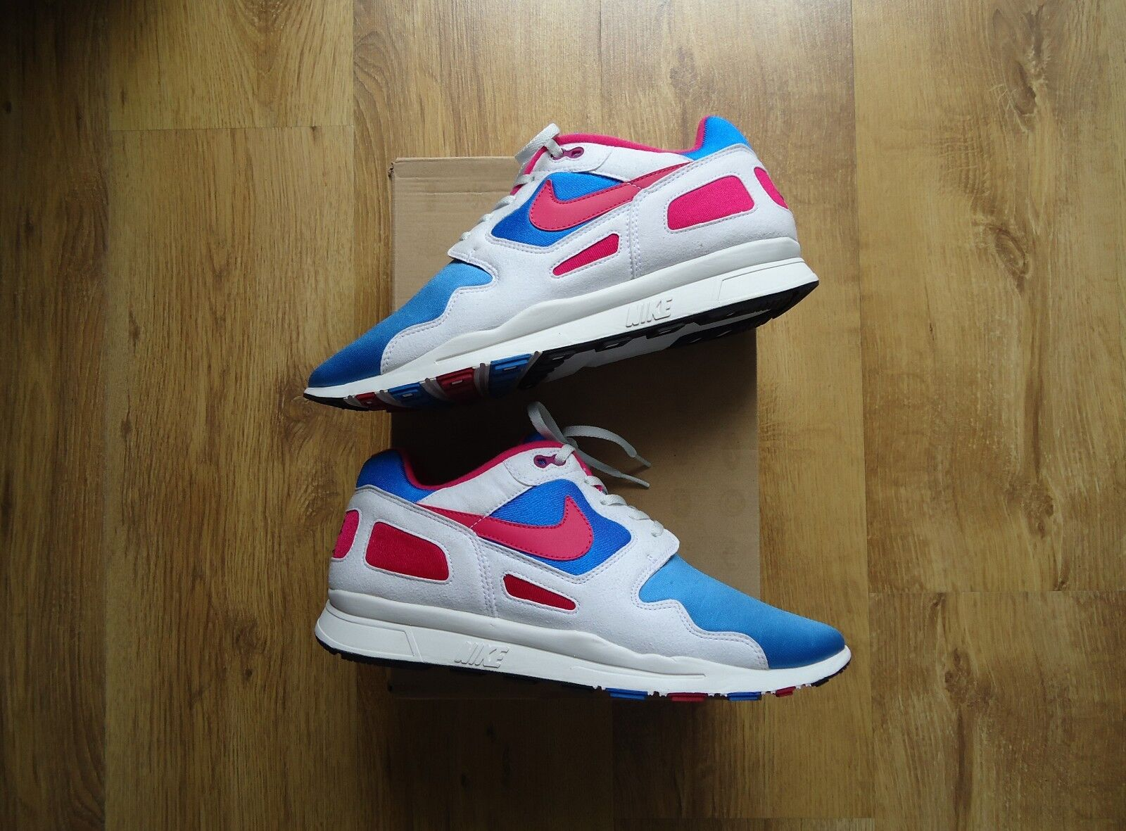 Nike Flow Cereza 2012 Raro corrojoores Air calor Kicks Zapatillas Coleccionistas