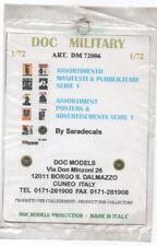DOC MODELS 72006 Assortimento manifesti pubblicitari scala 1/72