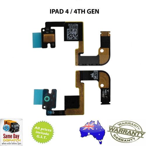 Microphone Flex Cable Ribbon WiFi Version Repair Part for iPad 4