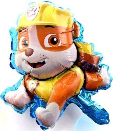 3x R13F6 not Helium balloon Folienballons Luftballons Rubble Paw Patrol Hund NEU
