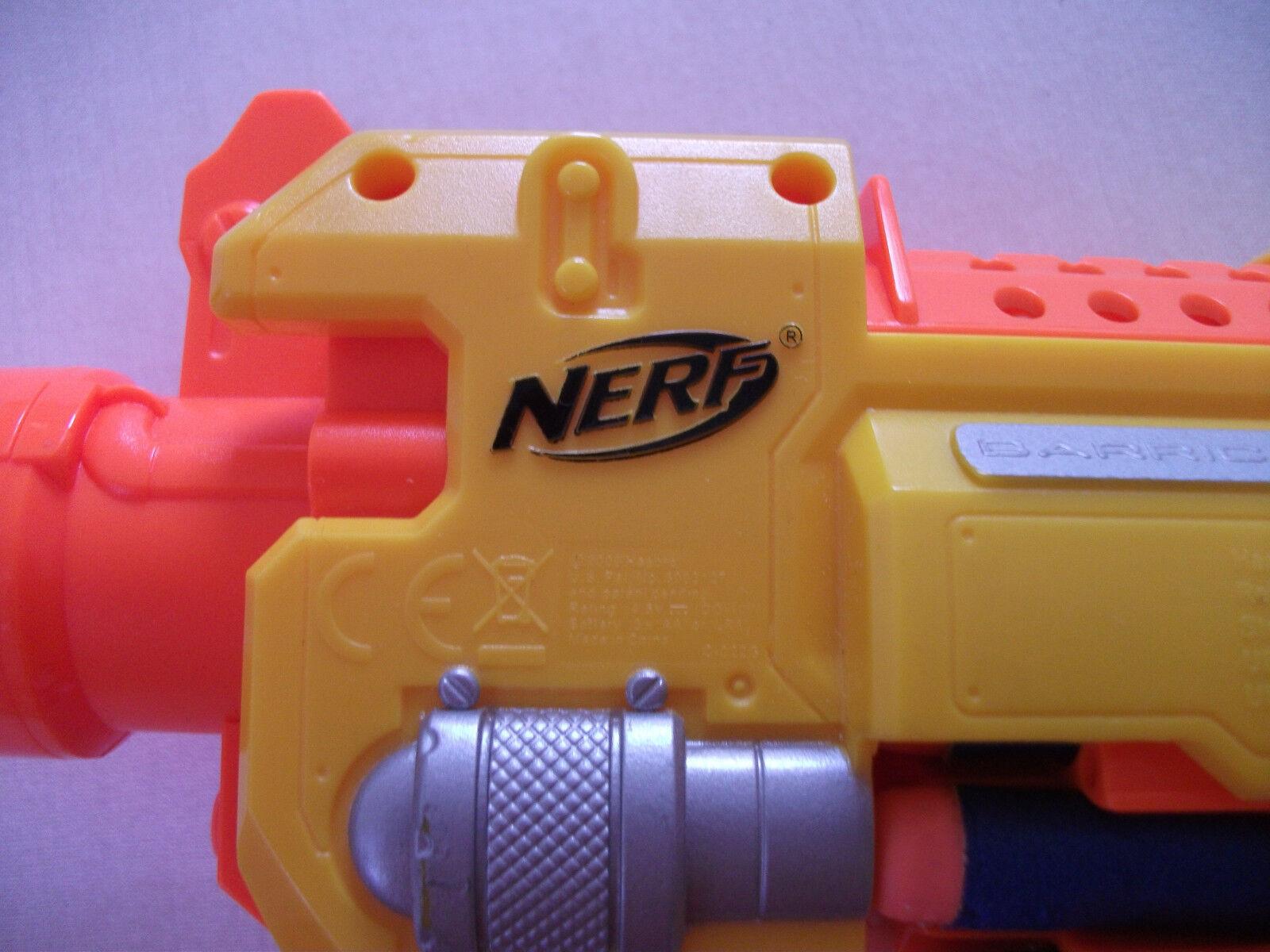 Orig.NERF - - - BARRICADE RV 10 batteriebetrieben neuw. c1e8e5