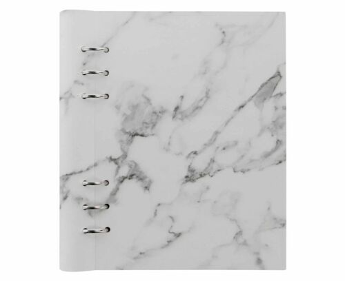 Filofax Refillable Clipbook Planner A5 Marble