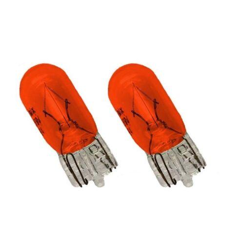 2 Stück WY5W T10 Lampe LIMA w5w 5 Watt Seiten Blinker Glühbirne ORANGE GELB