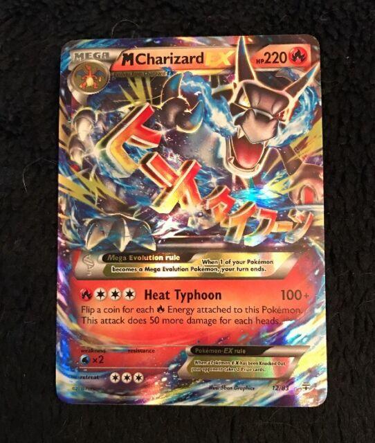 Mega M Charizard EX 12/83 XY Generations Ultra RARE Holo